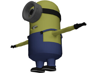 Minion One Eye 3D Model