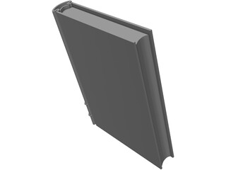 Book Hardcover Closed 3D Model