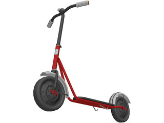 Central Scooter 3D Model