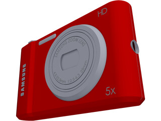 Samsung Photo Camera 3D Model