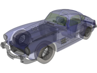 Mercedes-Benz 300 SL Coupe 3D Model