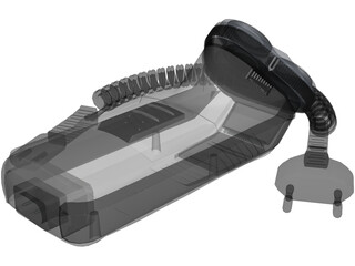 Philips 755 Electric Shaver 3D Model