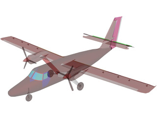 de Havilland Canada DHC-6 Twin Otter 3D Model