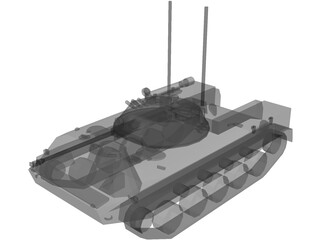 BMD-3 Airborne IFV 3D Model