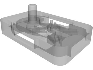 Geneva Timing Mechanism 3D Model