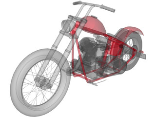 Pan Chopper 3D Model