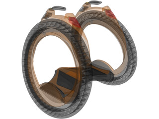 Wheel Sport Vehicle 3D Model