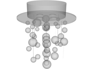 Bubble Lights  3D Model