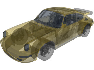 RUF CTR Yellowbird 3D Model