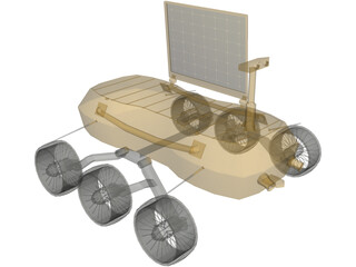 Rover Chandrayaan 3D Model