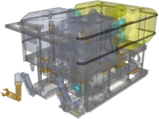 ROV Workclass 3D Model