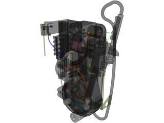 Ghost busters proton pack 3D Model