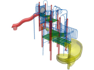 Playground Equipment 3D Model