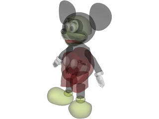 Mickey Mouse 3D Model