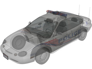 Ford Taurus Police 3D Model