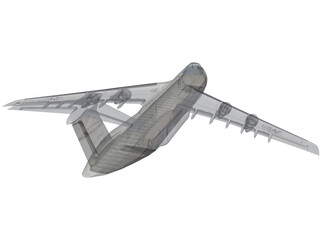 Lockheed C-5 Galaxy 3D Model