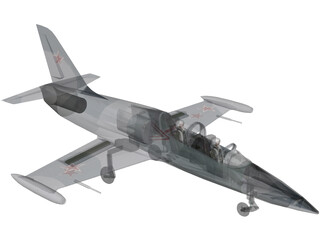 Aero L-39 Albatros Soviet Air Force 3D Model