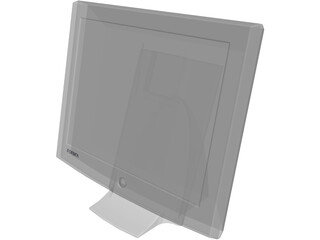Monitor Computer Flat Screen 3D Model