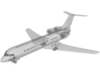 Bombardier Learjet 60 3D Model