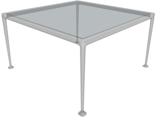 B&B Italia Garden Table 3D Model