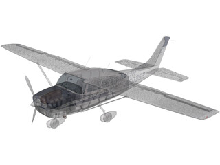 Cessna 206 Stationair 3D Model