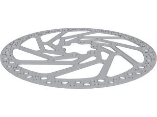 Brake Disc Hope 180mm MTB 3D Model