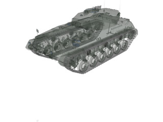 Tanque Argentino Mediano (TAM) 3D Model