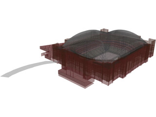 American Airlines Center Stadium [AAC] 3D Model