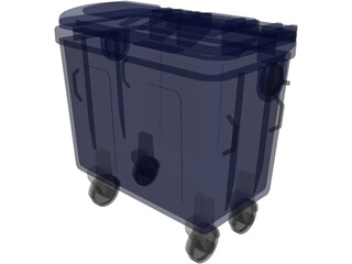 Trash Box 3D Model