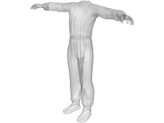 Cloth Surgical 3D Model