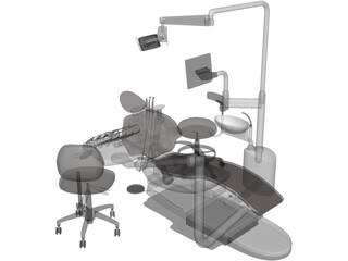 Dental Chairs 3D Model
