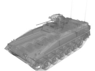 IFV Marder-1A3 3D Model
