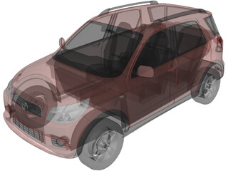Toyota Rush (2006) 3D Model