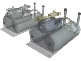 AC Receivers 3D Model