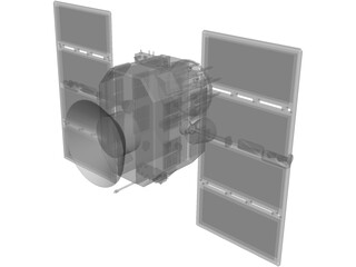 Navstar Satellite 3D Model