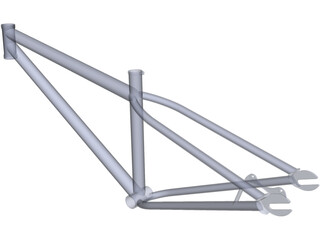 Specialized P2 Frame 3D Model