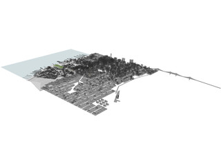 New York Manhattan Hudson Yards 3D Model