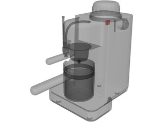 Espresso Coffee Maker 3D Model