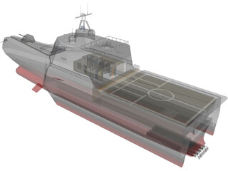 USS Independence (LCS-2) 3D Model