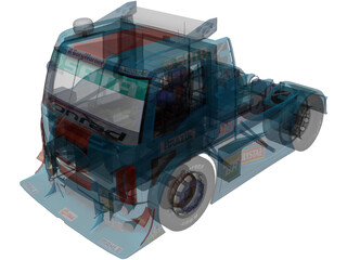 Ford Cargo DF Motorsport 3D Model