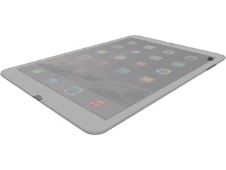 Apple iPad Air 2 3D Model